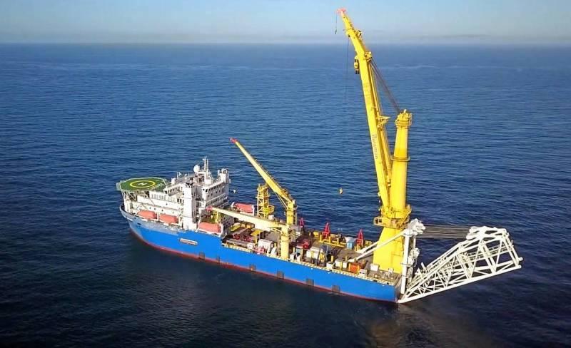 En los EE. UU., Se notaron los preparativos de Rusia para completar la construcción del gasoducto SP-2