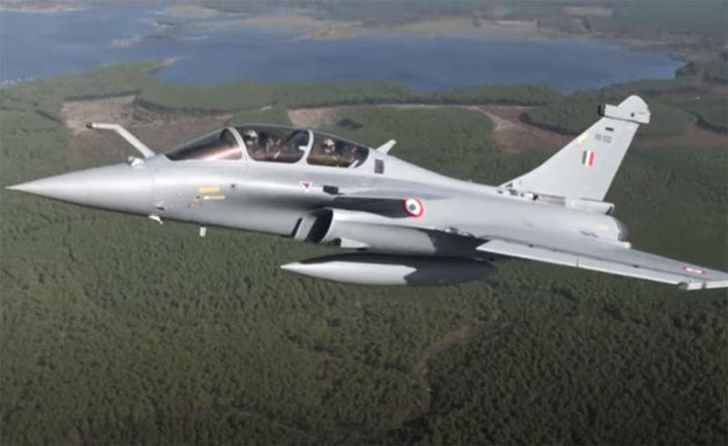The Indian Air Force revealed the secret of the letters RB in the tail of the fighter Rafale, transmitted by France