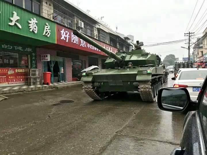 PLAおよび輸出用:タイプ15中戦車