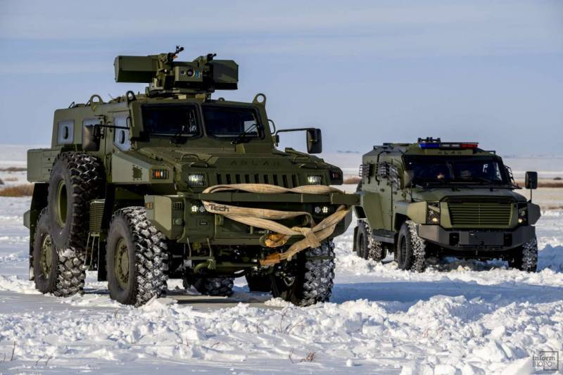 The Ministry of Defense of Kazakhstan has ordered an additional batch of MRAP Arlan
