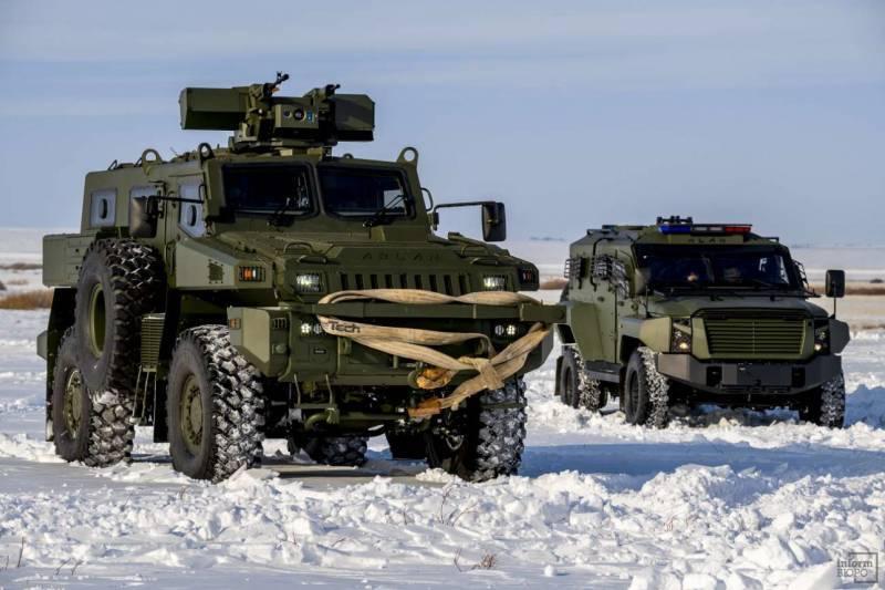 카자흐스탄 국방부는 추가 MRAP Arlan 배치를 주문했다