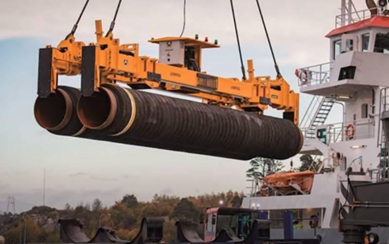Les États-Unis menacent Gazprom de sanctions pour avoir terminé Nord Stream 2