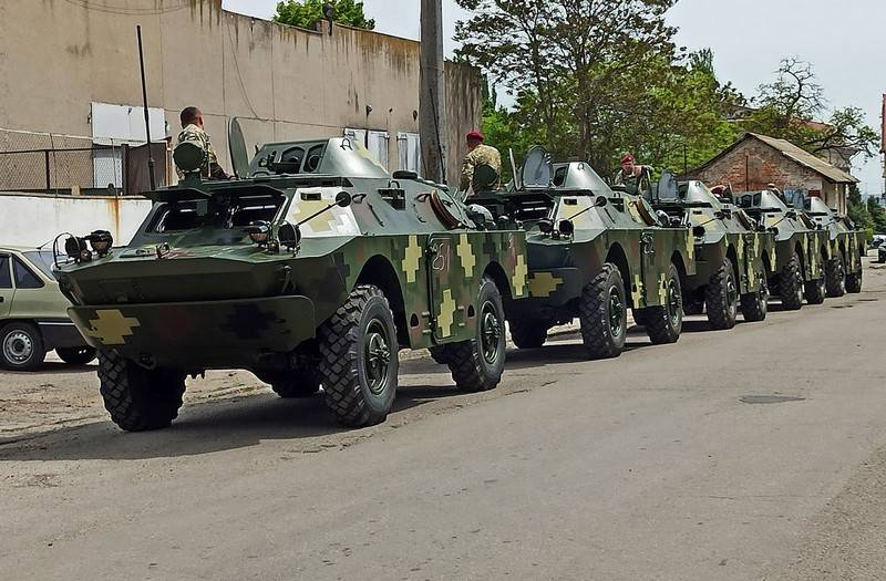 The next batch of restored BRDM-2L1 entered the Armed Forces