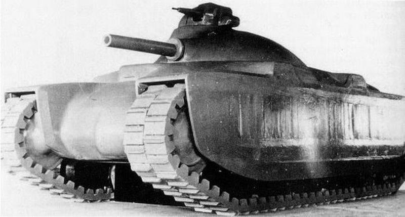 """French Thirty Four."" Medium Infantry Tank G1"