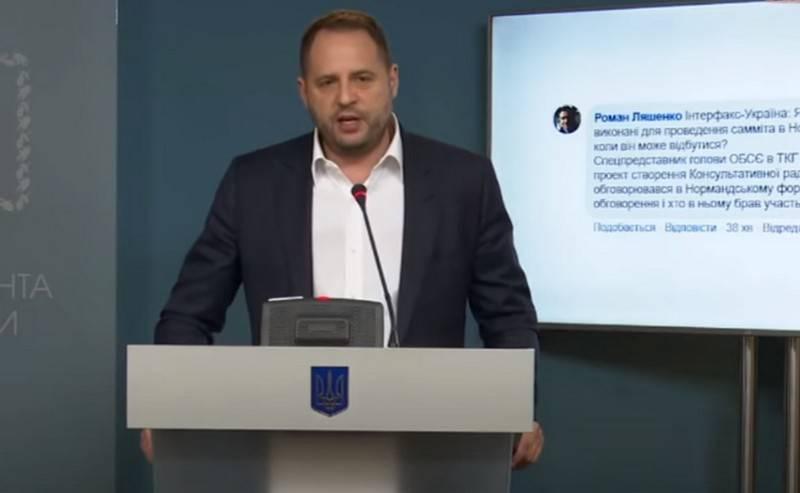 A Kiev, ils ont décidé de négocier avec leurs propres représentants du Donbass