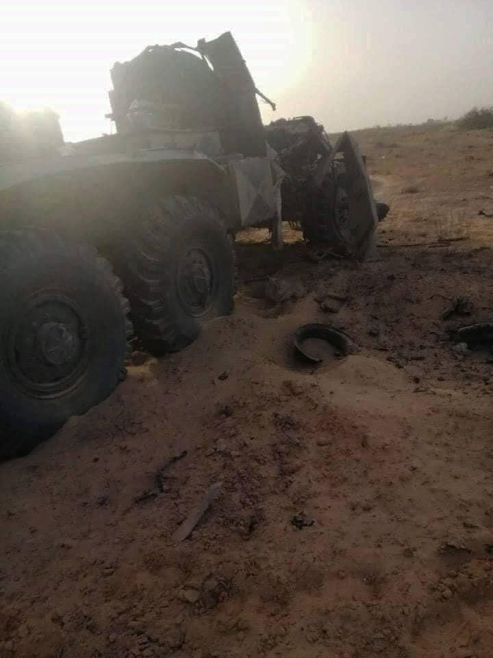 Потеря ЗРПК «Панцирь» и других вооружений: Армия Хафтара выбита с крупной авиабазы южнее Триполи