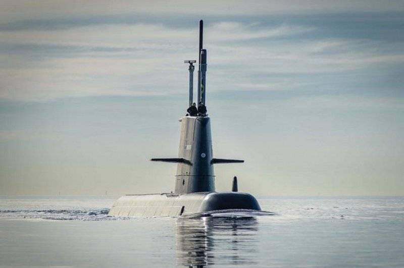 Das führende schwedische Diesel-U-Boot Gotland wurde nach der Modernisierung wieder in Dienst gestellt