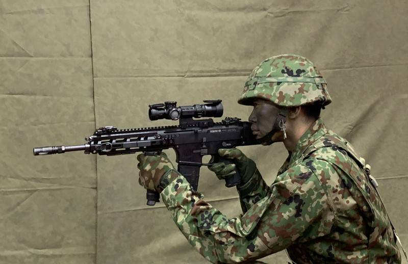 Self-Defense Forces of Japan will receive a new rifle and pistol