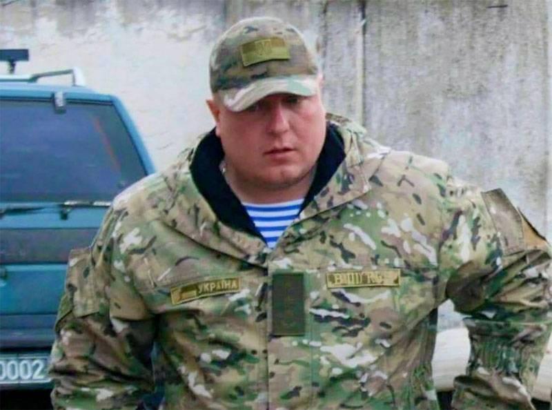 """La parte ucraina ha riportato la morte del comandante del battaglione """"Lugansk-1"""""""