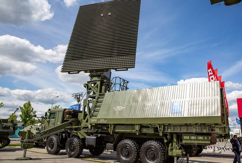 Russia introduces a new radar to the foreign market for the detection of hypersonic targets