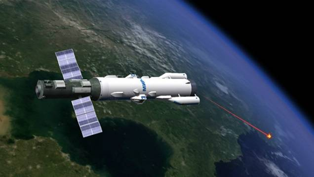 Laser weapons in space. Features of operation and technical problems