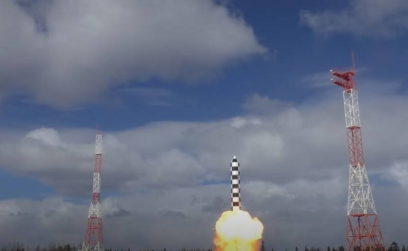 Russia did not stop the work on the new ICBM RS-28