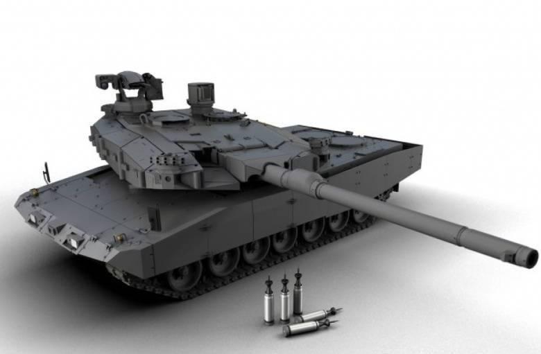 MGCS의 첫 단계. 독일과 프랑스는 새로운 탱크의 모양을 결정합니다
