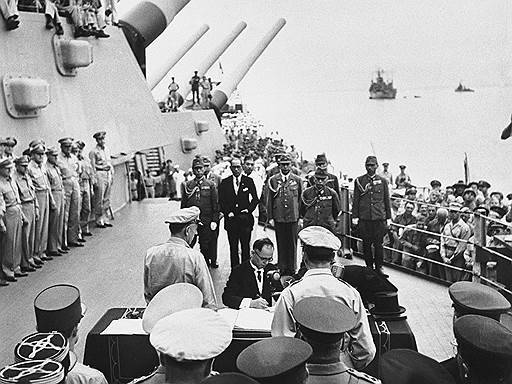 Mutual surrender, or Why the US not boast of the victory over Japan