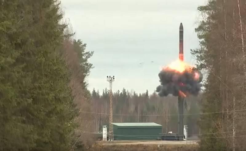 Strategische Raketentruppen rüsten die Raketensysteme von Yars weiter auf