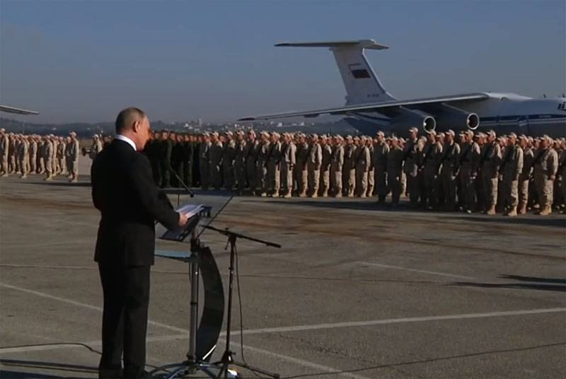 In the West: Putin may get tired of the Syrian campaign