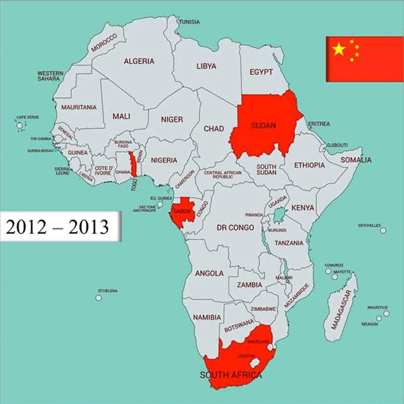 """AFRICOM""""睡过头了""""中国在非洲的加强,但谈到俄罗斯飞机向利比亚的转移"""