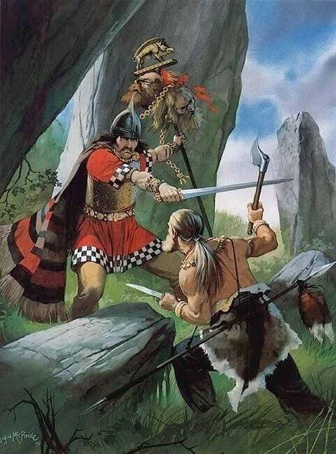 """Clothing of the northern """"barbarians"""""""