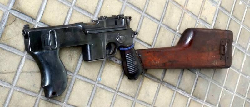 От маузера Schnellfeuer и пистолета-пулемета PASAM к Norlite USK-G Standard