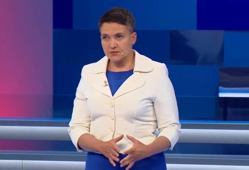Надежда Савченко на российском телеканале