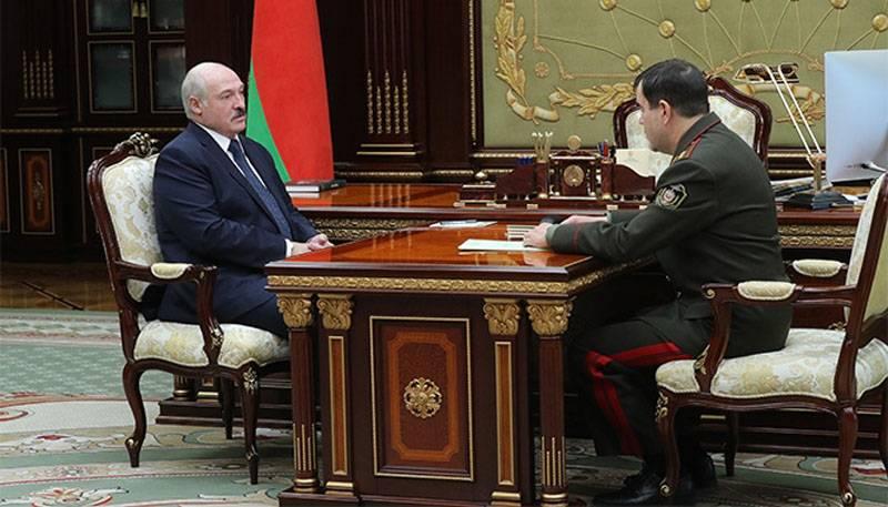 """लुकाशेंको ने कहा कि बेलारूस में """"मेदांचिक"""" की व्यवस्था करने के लक्ष्य का पीछा करने वाली सेना"""