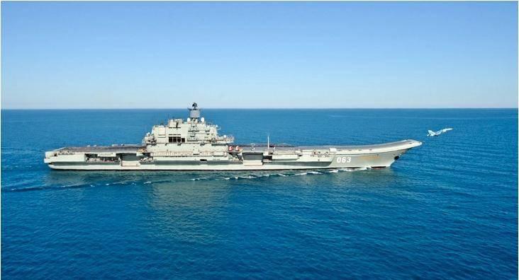 损坏的航母不适合俄罗斯机队