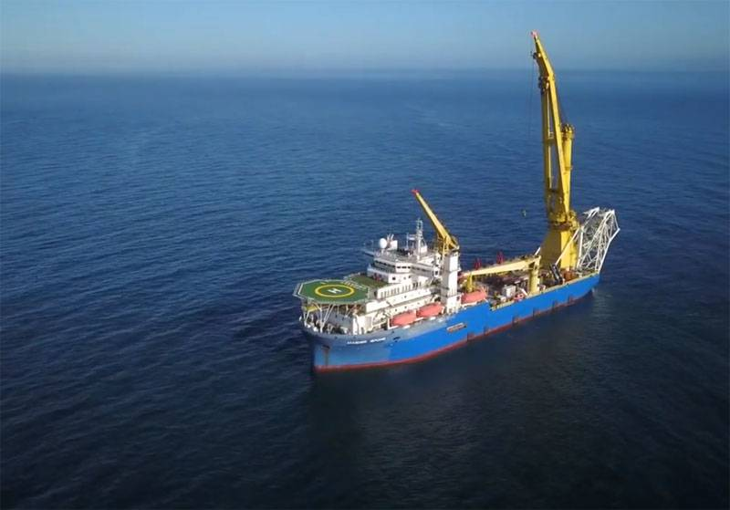 The Akademik Chersky pipe-laying vessel has a new owner