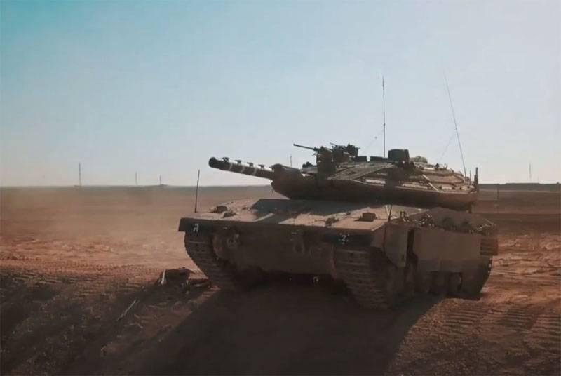 """Israele trasferì i carri armati Merkava al confine con il Libano, l'esercito libanese """"incontra"""" i giochi di ruolo"""