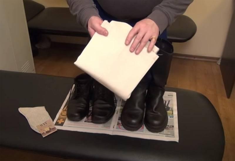 Fußtücher oder Socken: Eine langjährige Debatte darüber, was für die Beine von Soldaten am besten ist