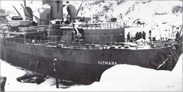 Ariete e imbarco durante la seconda guerra mondiale