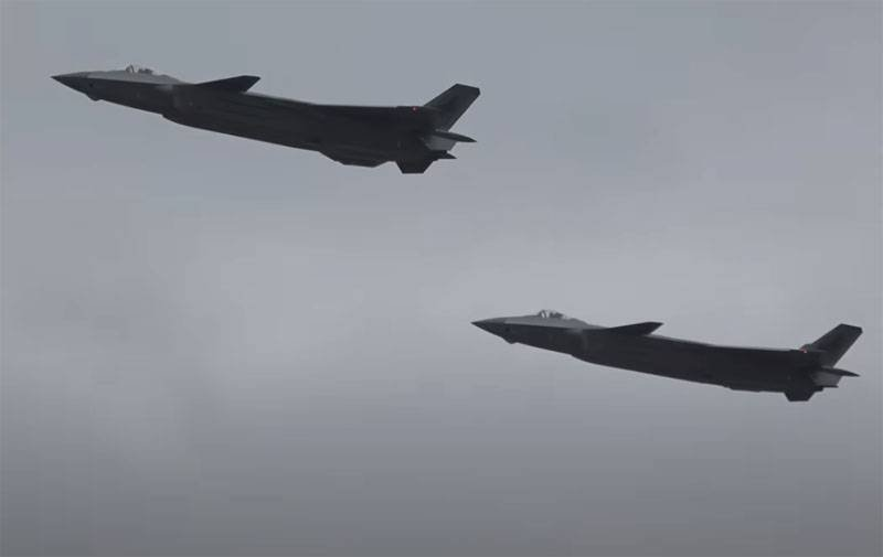 In China, spoke about the emergence of a new version of the fifth generation fighter J-20A