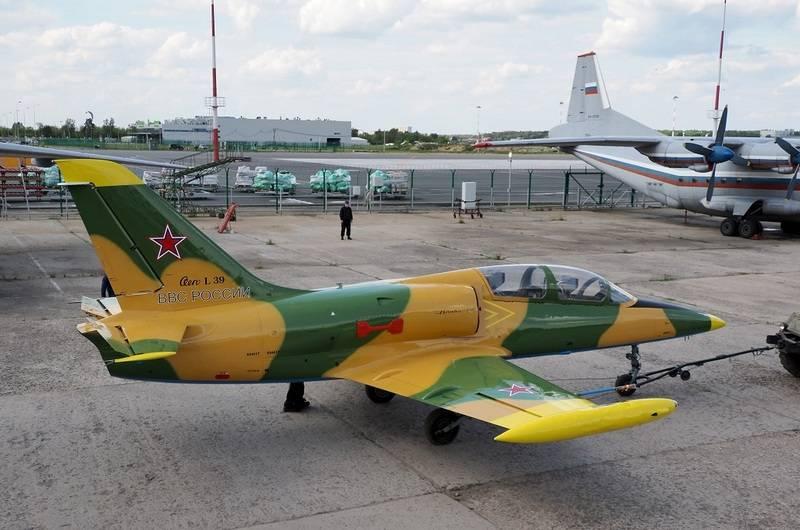 UAC展示了升级后的TCB L-39 Albatross
