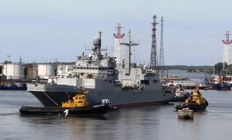 Le projet BDK 11711 «Peter Morgunov» retournera à «Yantar» pour terminer les travaux