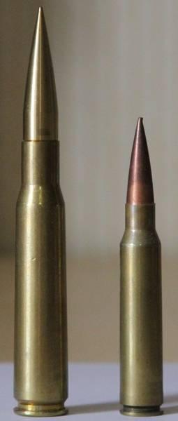 Gewehr DXL-5. Sieben Kilometer geschossen?