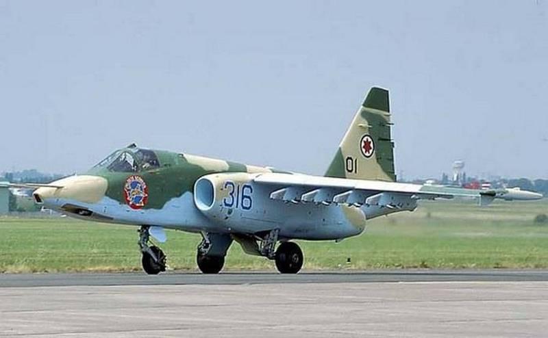 Geórgia pensa em retomar a produção de aeronaves de ataque Su-25