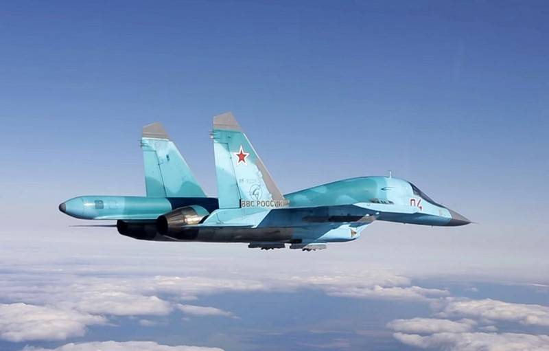 Signed a new contract for front-line bombers Su-34