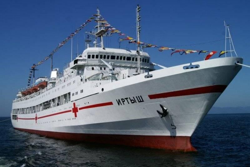 国防部打算购买医院船只