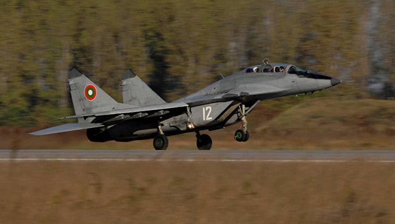 Bulgaria intends to sell MiG-29 fighters