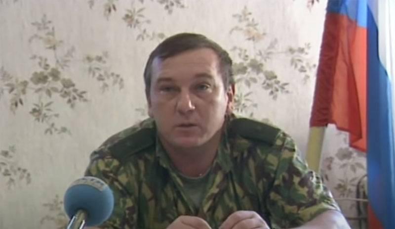 沙马诺夫将军的评论对巴穆特的攻击