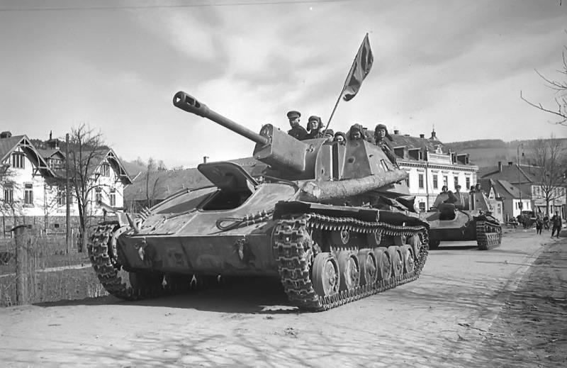 Capacidades antitanque de los montajes de artillería autopropulsados soviéticos de 76,2 mm