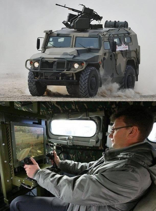 """कार """"टाइगर स्नाइपर"""": जमीनी लड़ाकू उपकरणों के लिए उच्च-सटीक हथियारों के दूरस्थ रूप से नियंत्रित मॉड्यूल"""