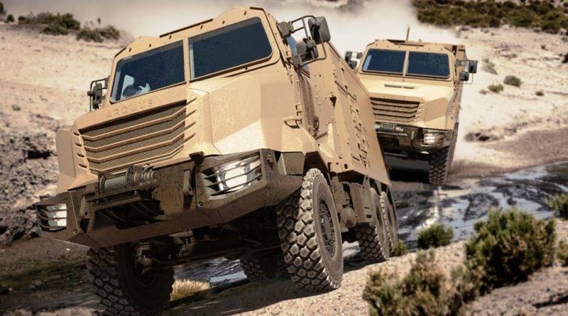 Os carros mais unificados. Família de chassis de carga Arquus ARMIS (França)