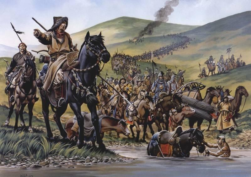 嵐の前夜。 ロマノビッチ国家のバトゥ侵攻