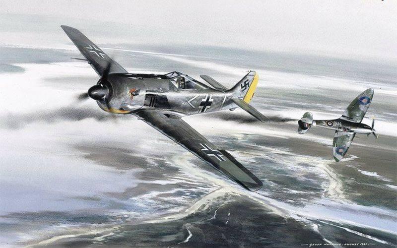 영국인이 Fokke-Wulf-190 전투기를 어떻게 점령했는지