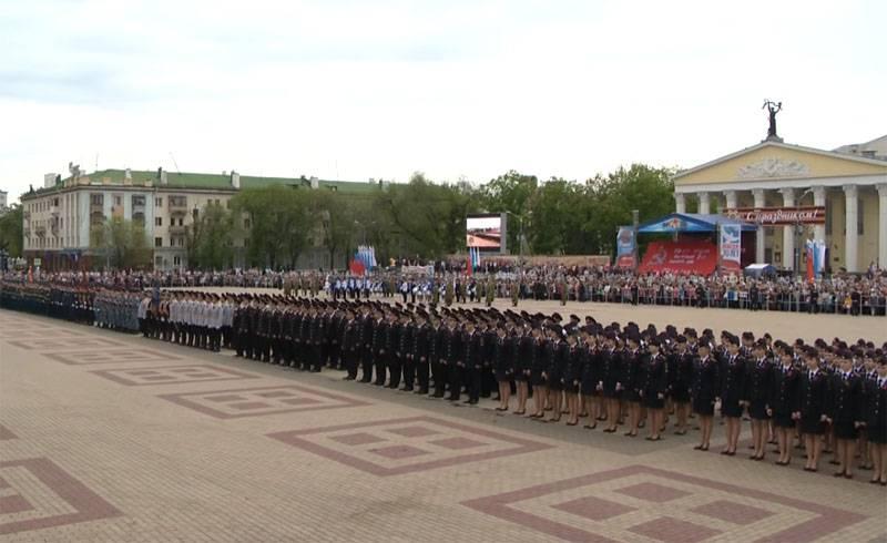 Immer mehr Städte in Russland sind gezwungen, eine Militärparade zu ertragen