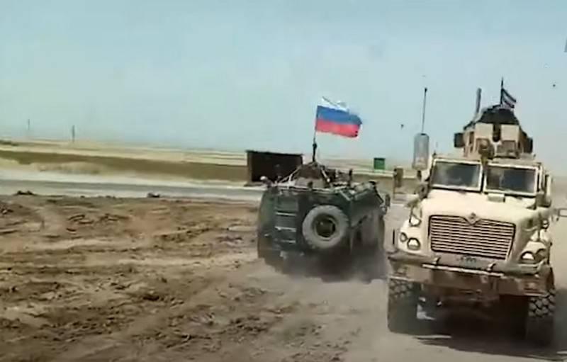 Provokasyon veya şans: Rus devriyesini Amerikalılar tarafından engelleme hakkında konuşma