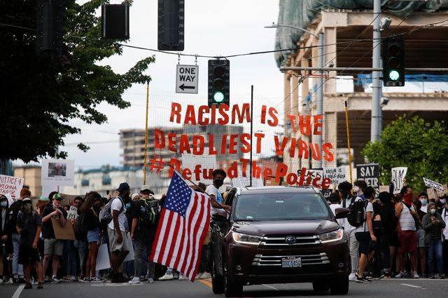 Amérique tricolore: un scénario