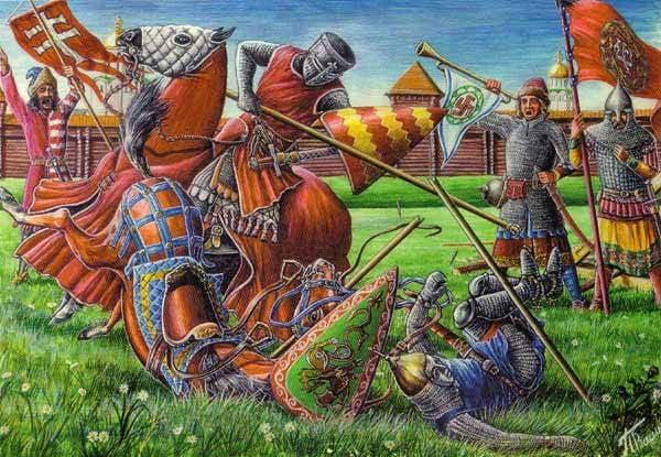 Restoration of the Principality and Military Reforms of Daniil Galitsky