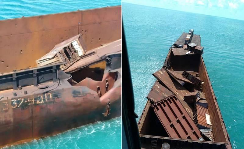 """In Ucraina, ha mostrato i risultati dell'RCC """"Nettuno"""" sulla nave bersaglio"""