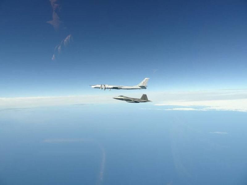 西側のユーザーは、アラスカをもう一度妨害した後、ロシアのTu-95をばかにしようとしました